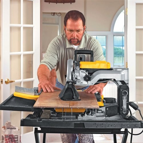 DEWALT D24000S Heavy-Duty 10-inch Wet Tile Saw with Stand Бандеролька