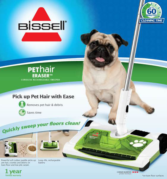 Amazon Com Bissell Pet Hair Eraser Rechargeable Sweeper