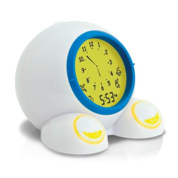 American Innovative Teach Me Time Talking Alarm Clock And