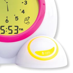 An Interactive Talking Time Teaching Game Has Adjustable