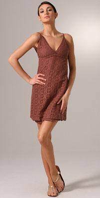 Ella Moss Penny V Neck Empire Waist Dress