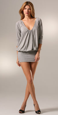 798af570d121 Ever want to wear a mini skirt and hide your tummy area? Then the blouson  dress might be for you!