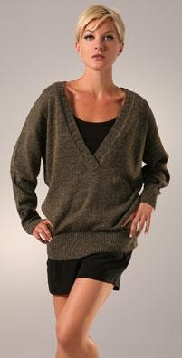 Maria Bonita Extra V Neck Flag Sweater