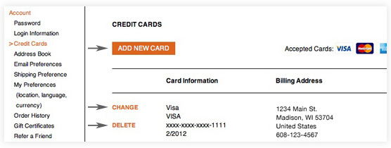 my amazon visa card account