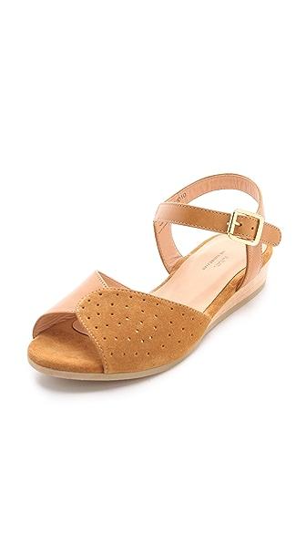 A P C Demi Wedge Sandals Shopbop