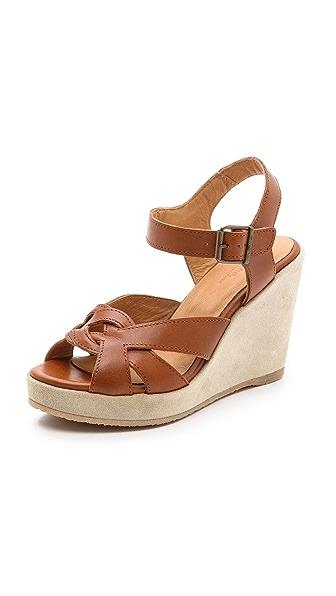 A P C Wedge Sandals Shopbop