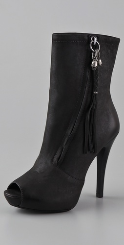Ash Great Open Toe Platform Booties