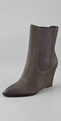 Ash Penelope Wedge Booties