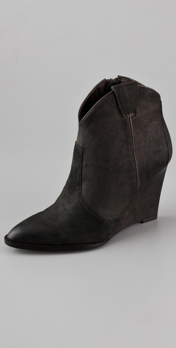 Ash Paradise Wedge Booties