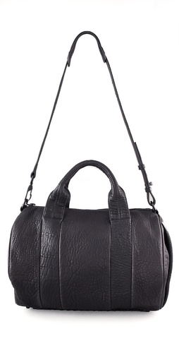Alexander Wang Rocco Duffel with Black Hardware.