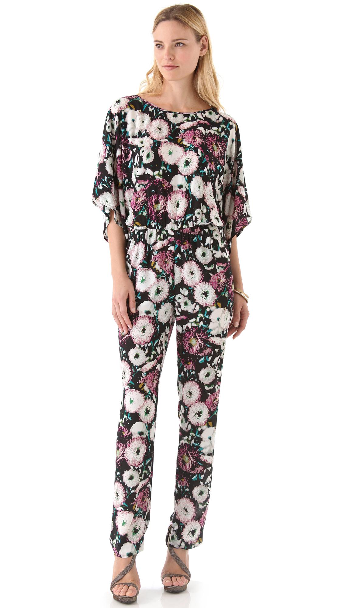 04f2fff8dab BCBGMAXAZRIA Sianna Floral Jumpsuit on PopScreen