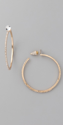 Belle Noel Hoop Earrings