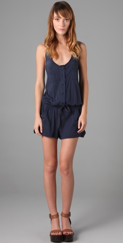 C&C California Twill Tape Romper
