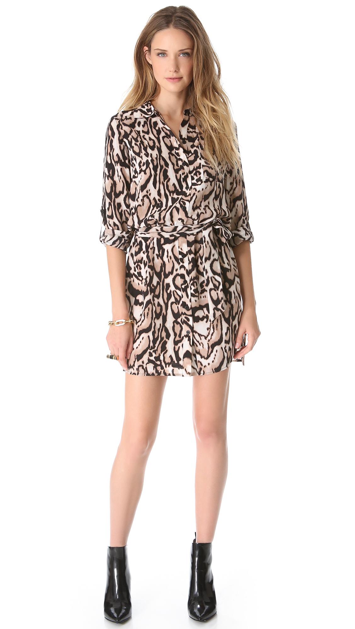 5525c91aca Diane von Furstenberg Prita Shirtdress on PopScreen