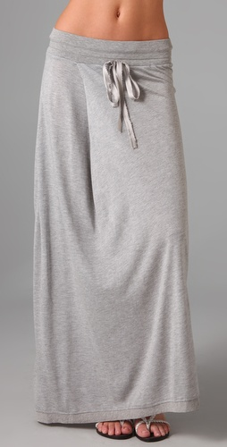 Dolan Pleat Maxi Skirt