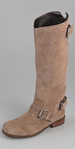 Dolce Vita DV Zela Flat Buckle Boots