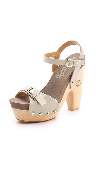 Flogg Cassie Platform Clog Sandals Shopbop