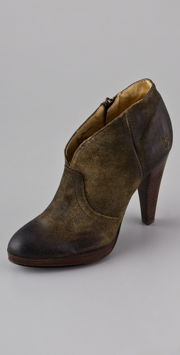 Frye Harlow Campus Booties