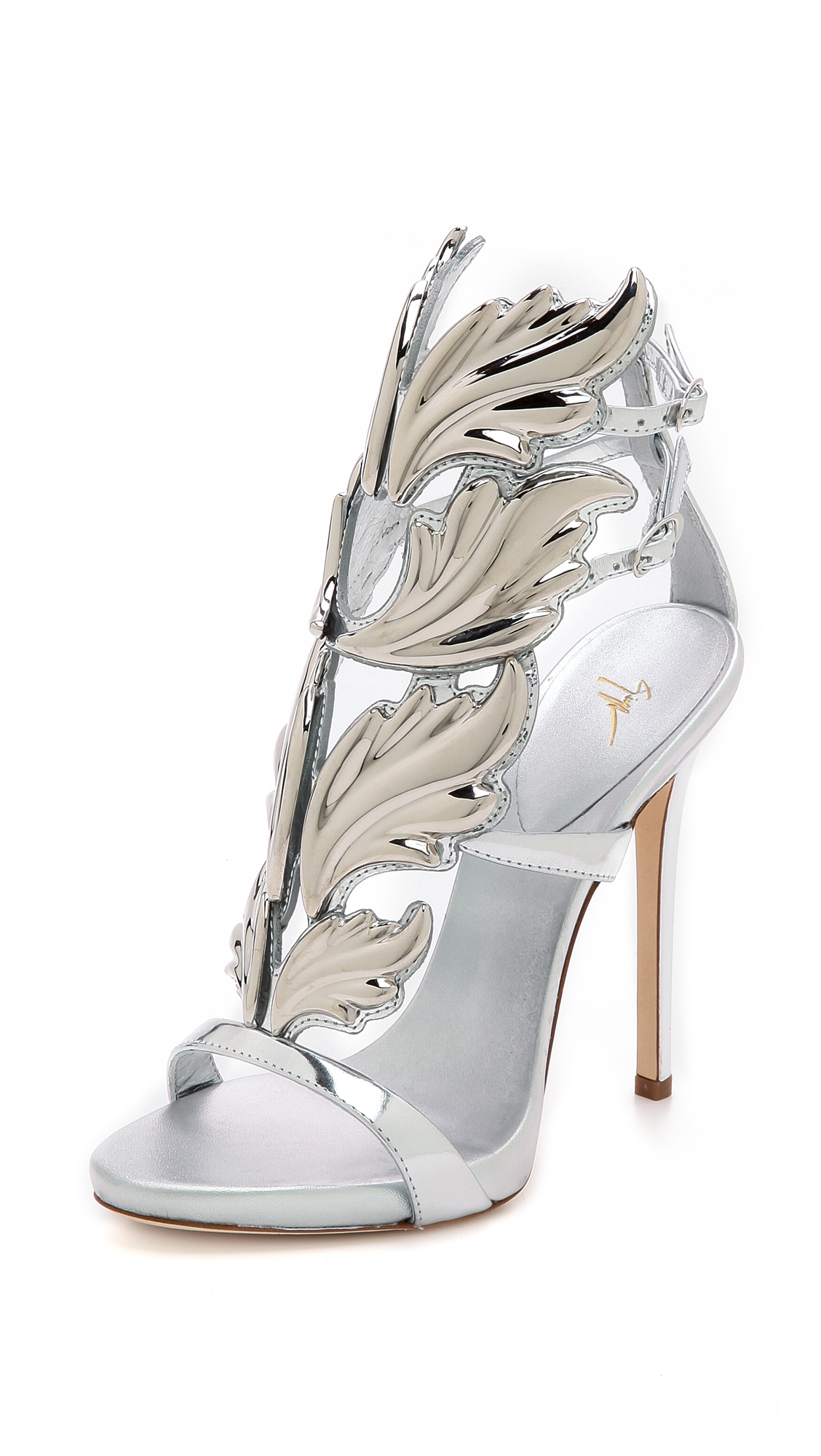 a1c5001be8c Buy giuseppe zanotti Metal Wing Sandals (silver) 13097522 for ...
