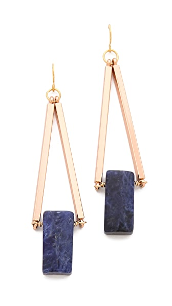 gemma redux triangle drop earrings online shopping made easy. Black Bedroom Furniture Sets. Home Design Ideas