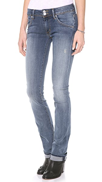 Hudson Beth Mid Rise Baby Boot Cut Jeans Shopbop