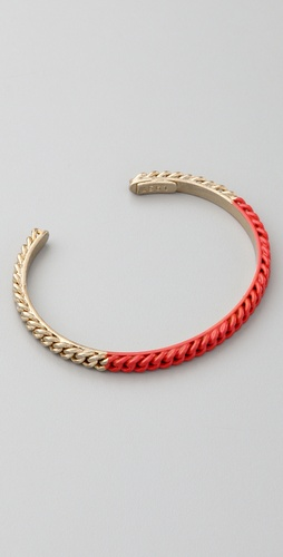 Madewell Colorblock Chain Cuff