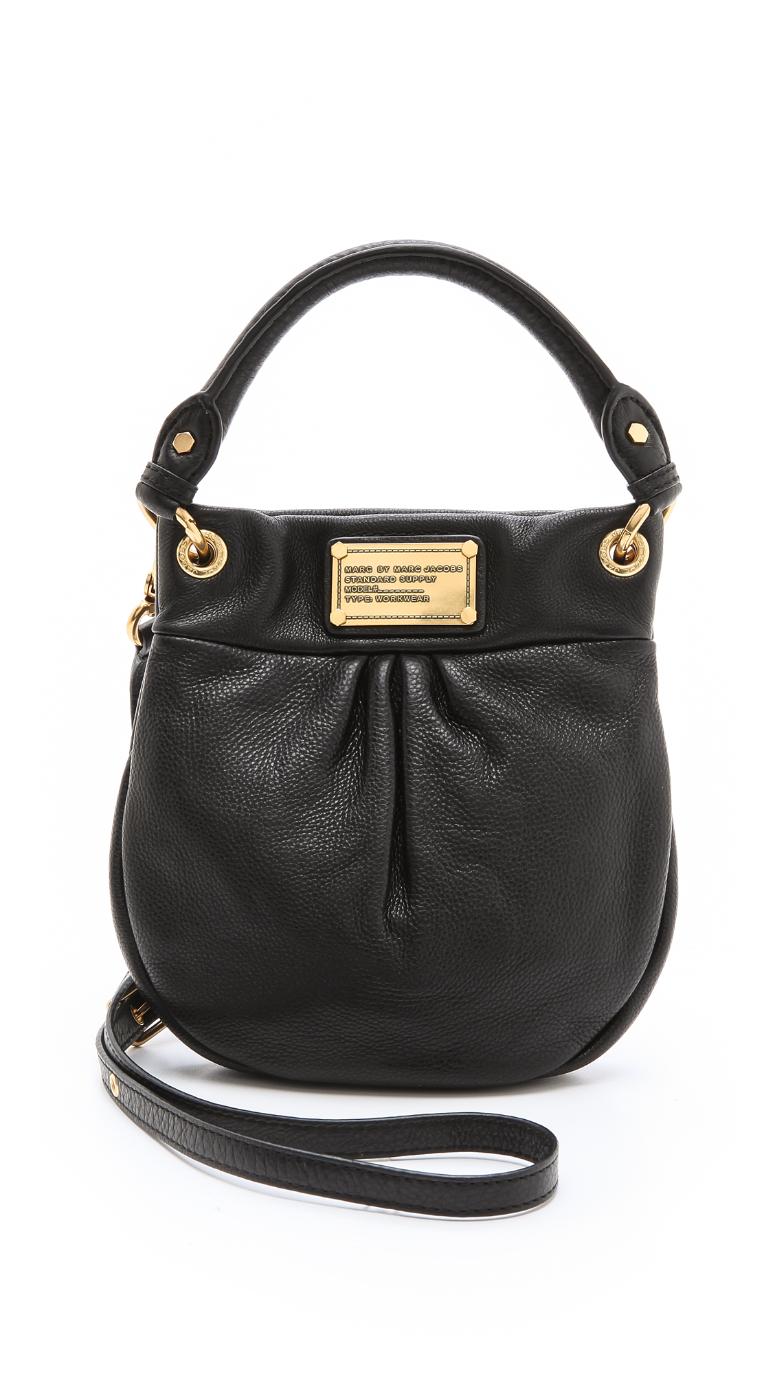 31bf2dea0e Marc by Marc Jacobs Mini Hillier Hobo on PopScreen