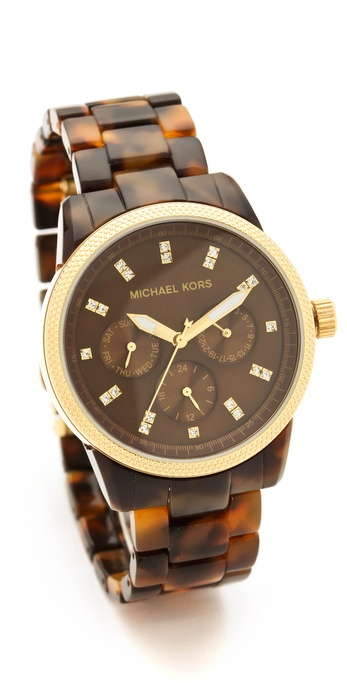 Michael Kors Tortoise Sport Watch Shopbop