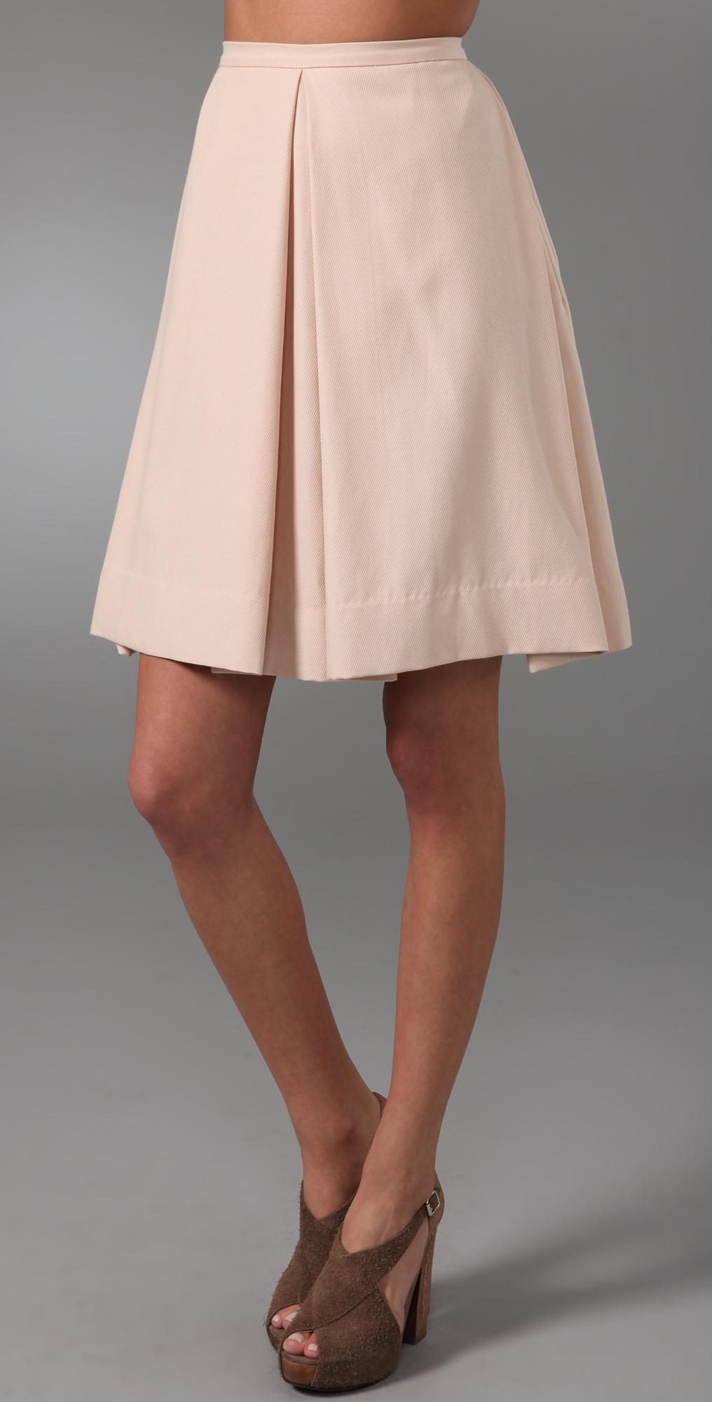 9eafc4ede 3.1 Phillip Lim Box Pleat Skirt on PopScreen