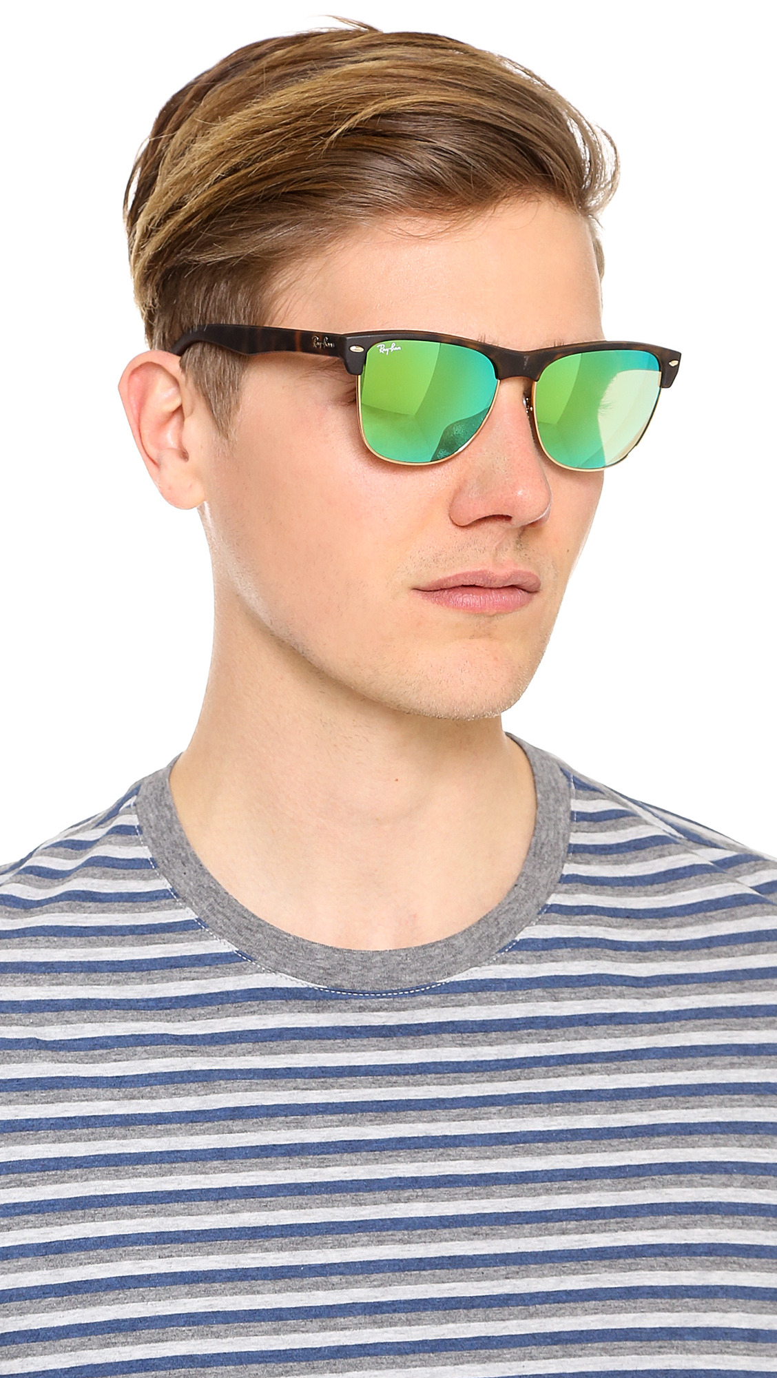 4e3086721d Ray Ban Clubmaster Oversized White