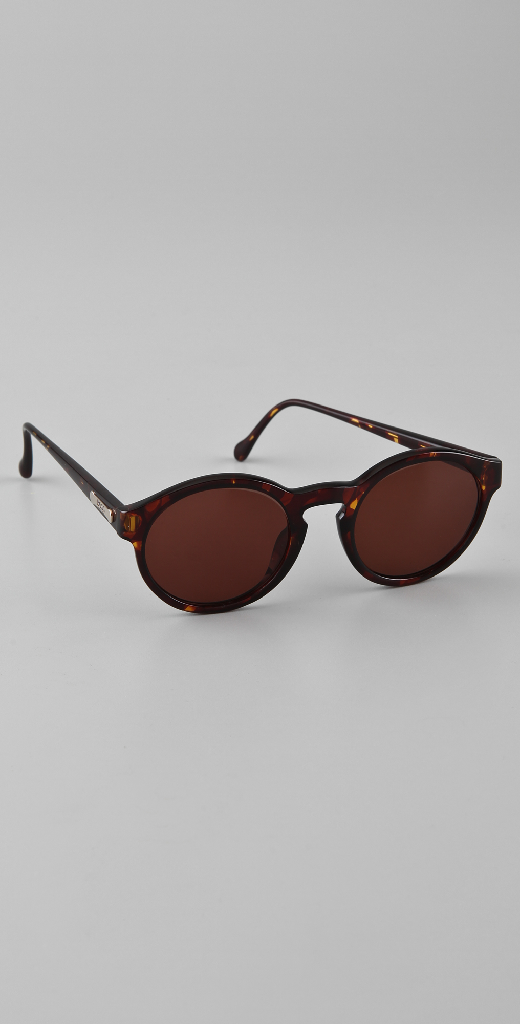 2cdea1ef6fae Retrosun Vintage Hugo Boss Round Sunglasses on PopScreen