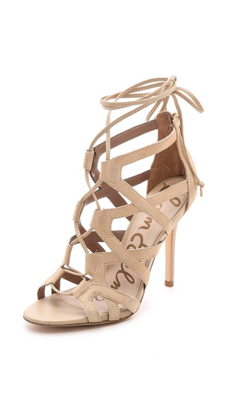 0798df690860 Sam Edelman Almira Lace Up Sandals on PopScreen