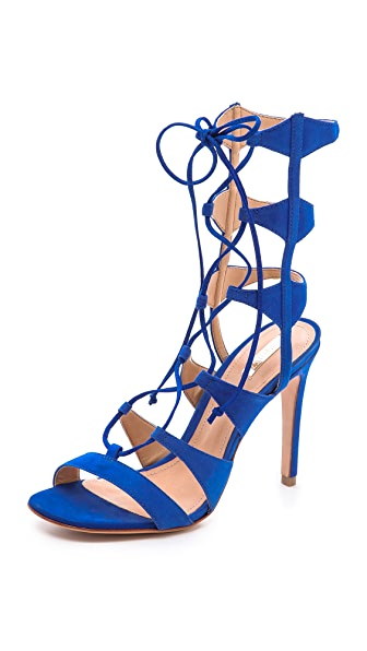 Schutz Erlene Lace Up Sandals Shopbop