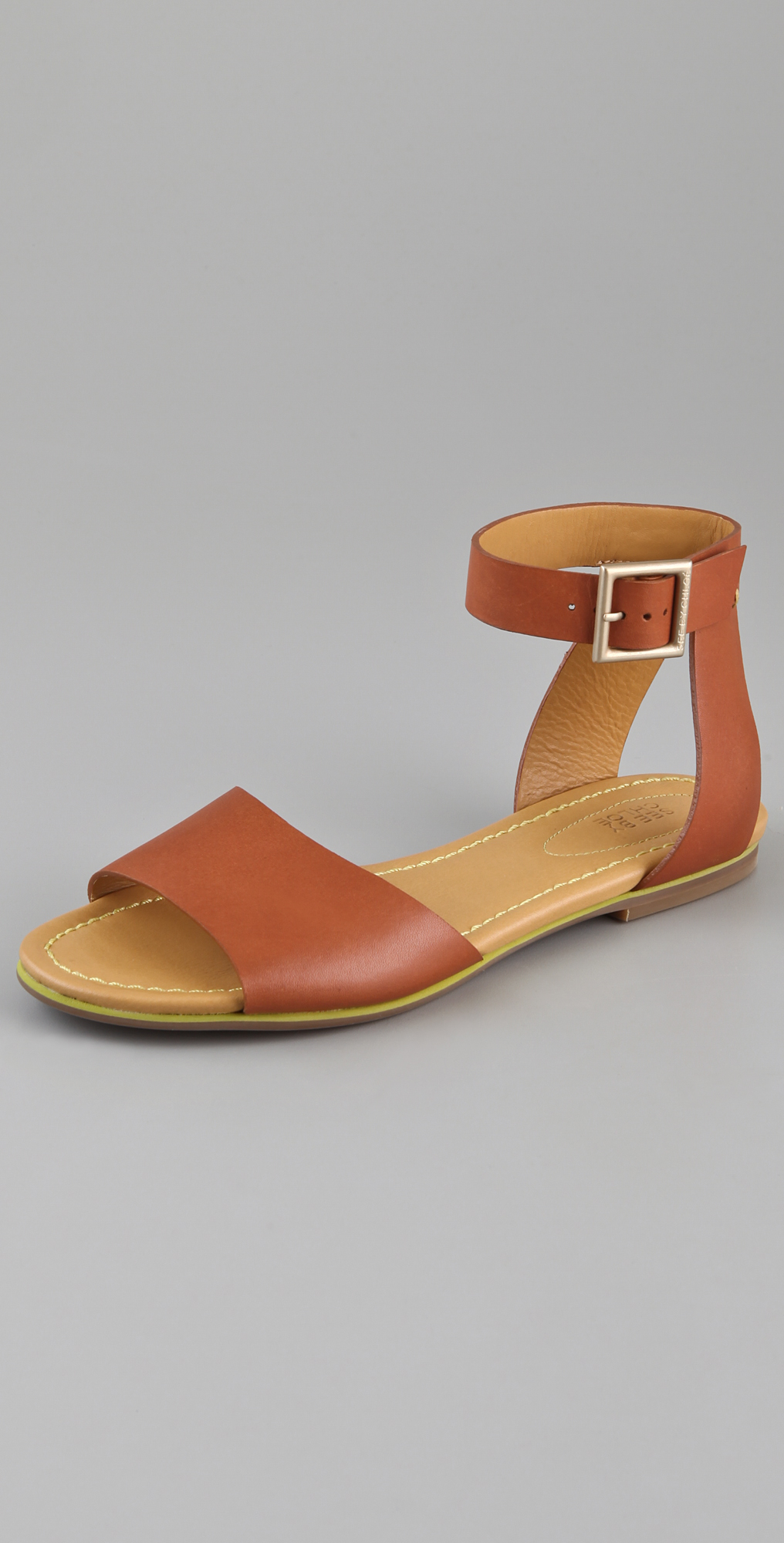 56010b12a69 See by Chloe Broad Band Flat Sandals on PopScreen