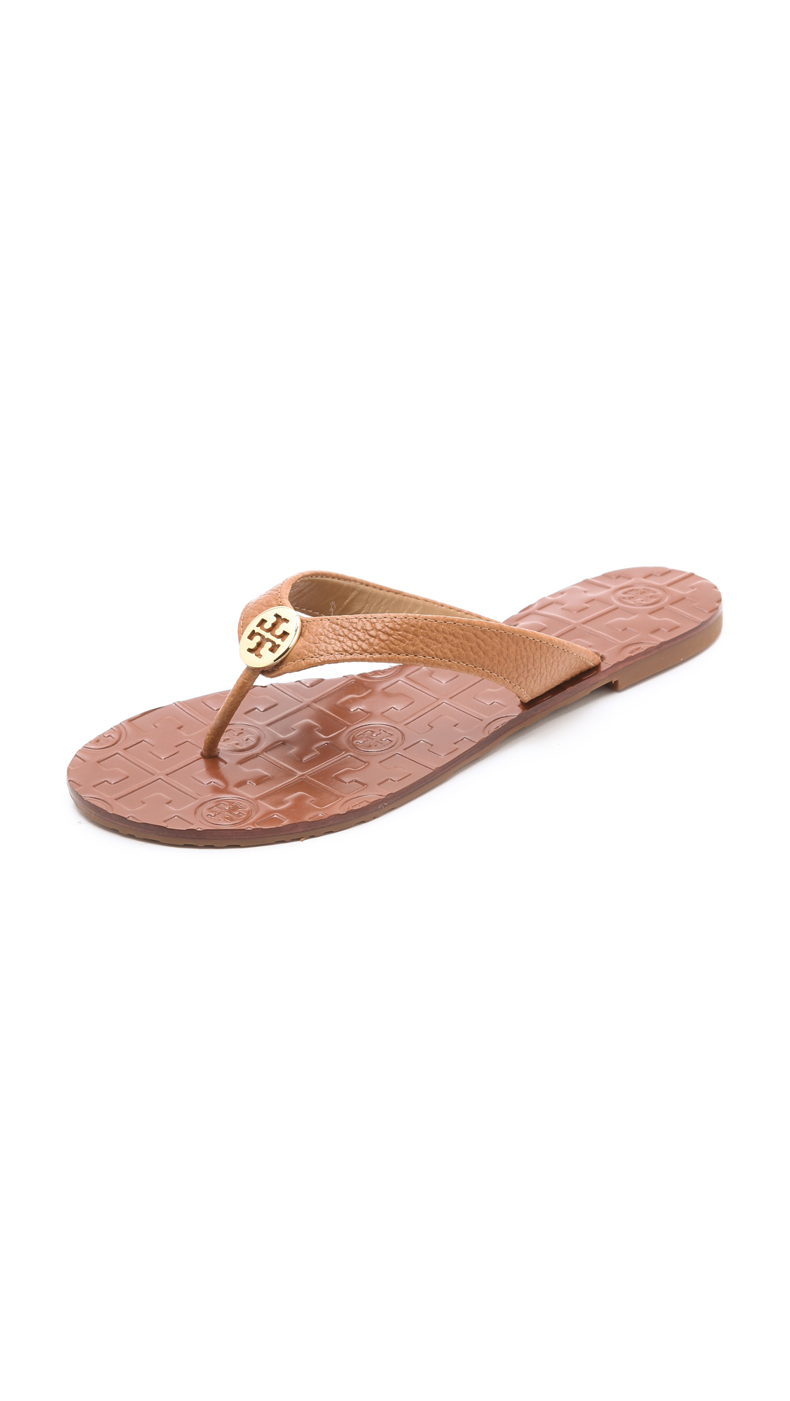 782e75ae3 Tory Burch Thora Flat Thong Sandals on PopScreen