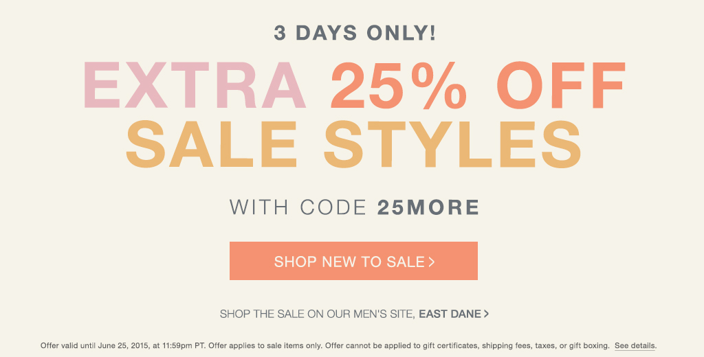 All Active Shopbop Promo Codes & Coupon Codes - Up To 15% off in December 2018