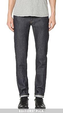 아페쎄 쁘띠 스탠다드진 A.P.C Petit Standard Brut Stretch Jeans,Indigo