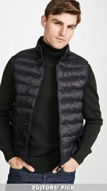 바버 조끼 Barbour Bretby Gilet Vest,Black