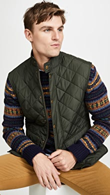 바버 조끼 Barbour Lowerdale Gile Vest,Sage