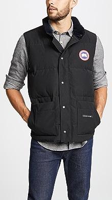 캐나다 구스 프리스타일 크루넥 조끼 Canada Goose Freestyle Crew Vest,Black