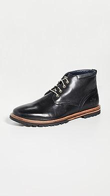 콜한 부츠 Cole Haan Raymond Grand Chukka Boots,Black Handstain