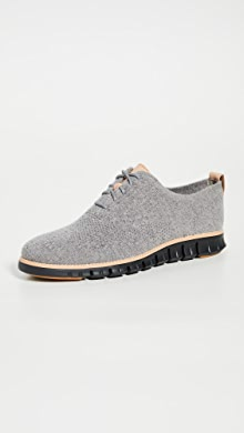 콜한 제로그랜드 옥스포드 신발 Cole Haan Zerogrand Stitchlite Oxfords,Ironstone/Black