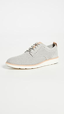 콜한 옥스포드 슈즈 Cole Haan Original Grand Stitchlite Plain Oxford Shoes,Rock Ridge