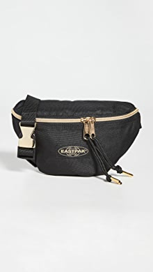 이스트팩 벨트백 Eastpak Springer Waist Pack,Black/Gold