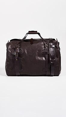 필슨 가죽 미디움 더플백 - 시에라 브라운 Filson Weatherproof Leather Medium Duffel Bag,Sierra Brown