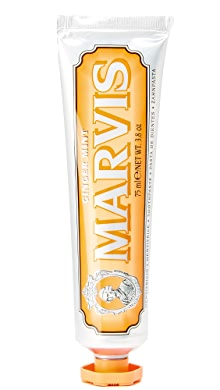 마비스 민트 치약 Marvis Ginger Mint Toothpaste,No Color
