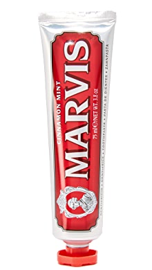 마비스 민트 치약 Marvis Cinnamon Mint Toothpaste,No Color