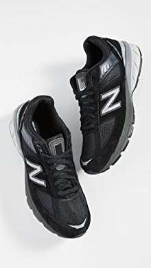 뉴발란스 스니커즈 New Balance Made In US 990v5 Sneakers,Black