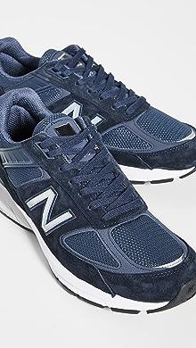 뉴발란스 스니커즈 New Balance Made In US 990v5 Sneakers,Navy
