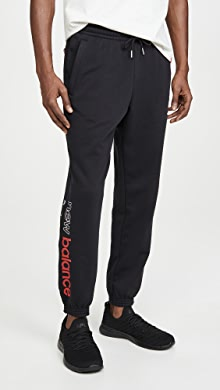 뉴발란스 아이콘 스웻팬츠 New Balance Essentials Icon Sweatpants,Natural Indigo